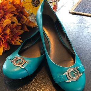 Guess leather flats size size 7